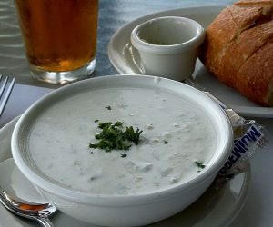 Smoked Clam Chowder
