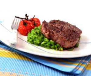 Spicy Peppered Steaks