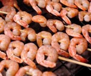 Indonesian Barbecued Shrimp