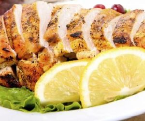 Mesquite-Grilled Breast Of Chicken with Citrus Sauce