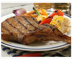 Beer-Grilled Chops
