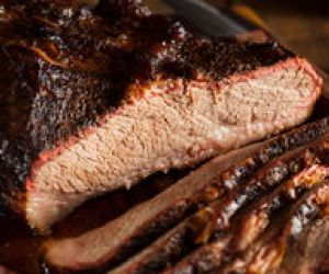 Texas Barbequed Beef Brisket