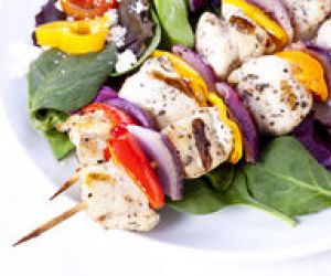 Honey Chicken Kabobs